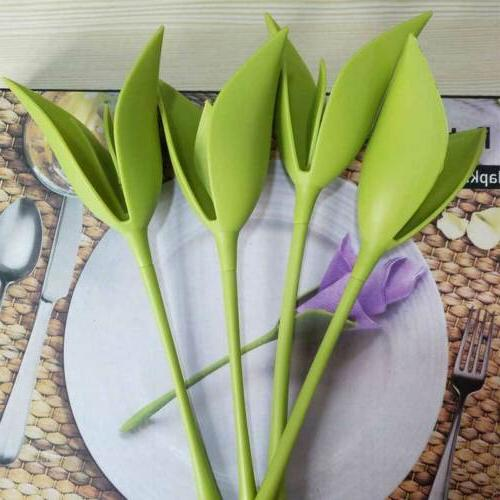 12PCS Table Flower Buds Serviette Holder US