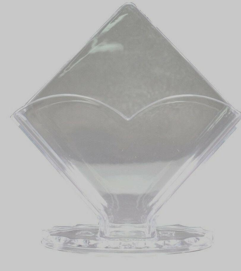 """7"""" Clear Acrylic Holder Essential Home"""