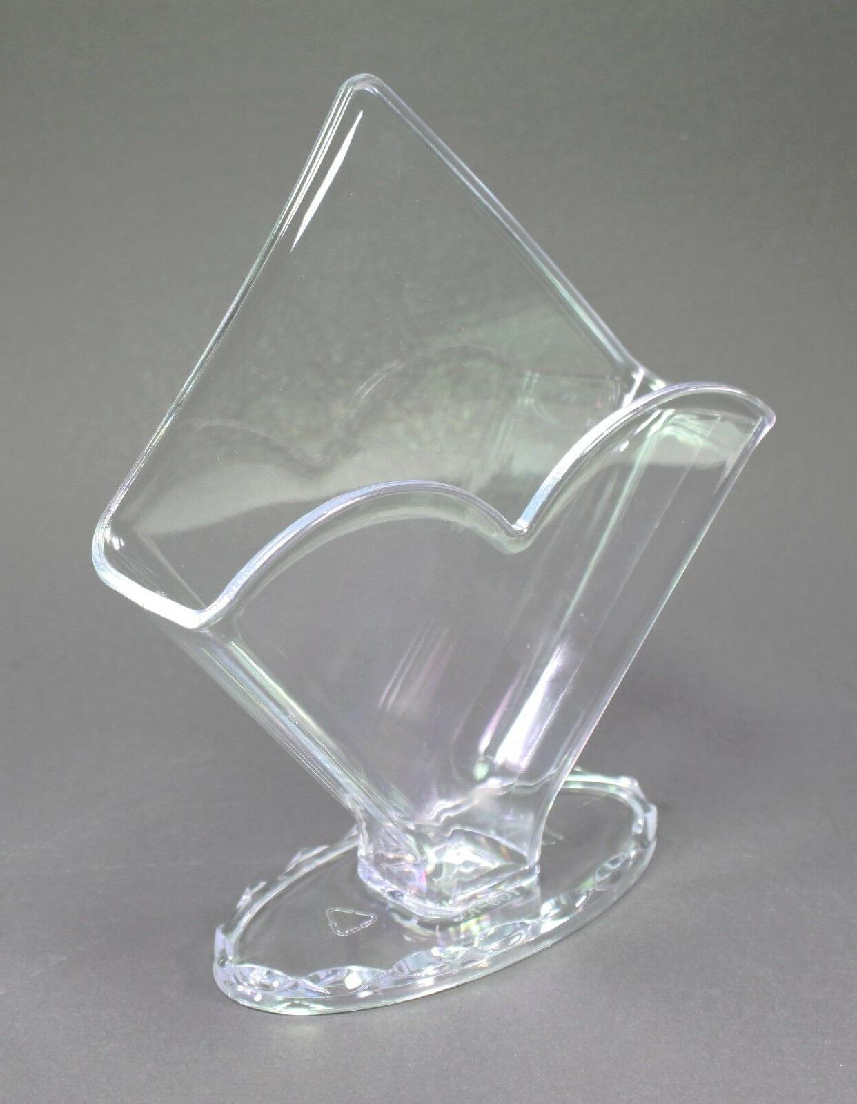 """7"""" Clear Holder Condiment Essential Home Decor"""