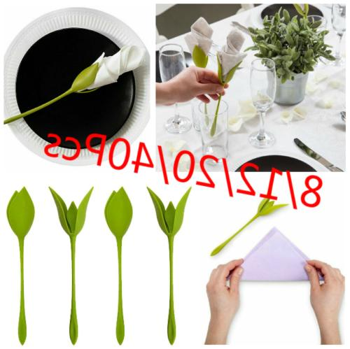 8 12 40pcs bloom napkin holders