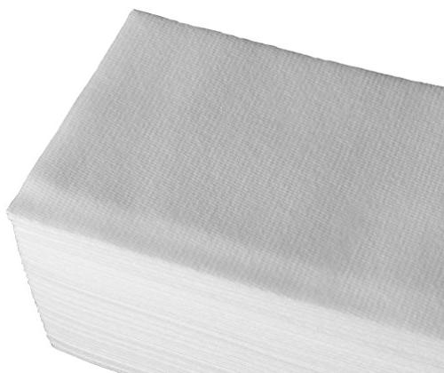 Linen Feel Guest Towels White 200 Pack Absorbent, Fancy Parties, Dinner, Cocktails, Kitchen, Weddings &