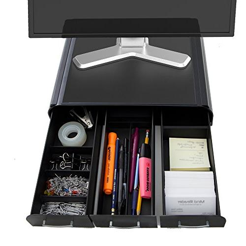 Mind Reader PC, Laptop, IMAC Monitor Stand and Desk Organize