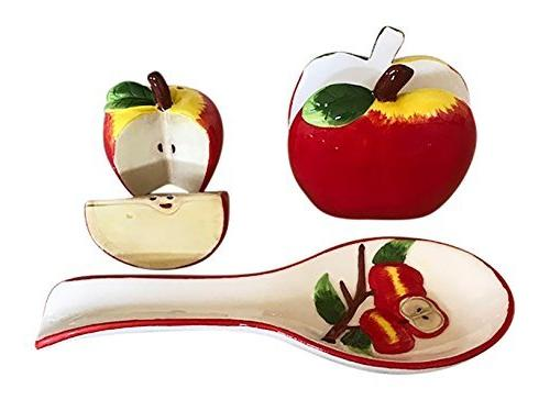 apple kitchen decor collection