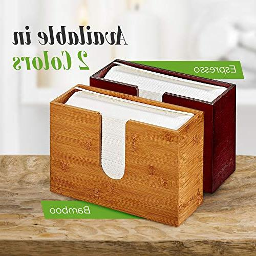 """AdirHome Paper Dispenser 4.8"""" x x Mount Countertop Multifold - Bathroom, Kitchen, Home or Commercial"""