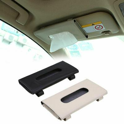 car microfiber leather tissue box napkin paper