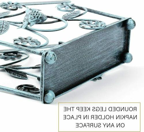 Cast Iron Paper Dispenser Stand for Home Kitchen Bar Hotel