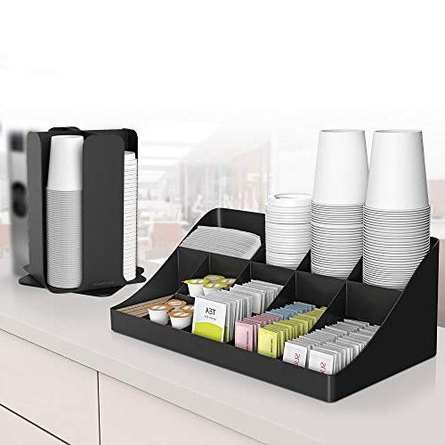 Mind and Breakroom Coffee Condiment Organizer,