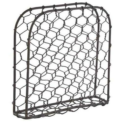 chicken wire metal lunch napkin