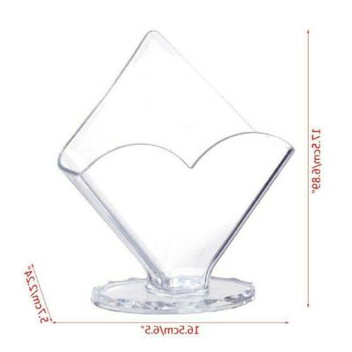 Clear Acrylic Paper Dispenser Tissue