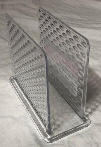 Cooking Clear Napkin Holder Dinner Table Accessory New FREE