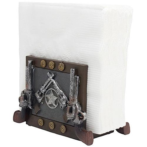 decorative country western napkin holder