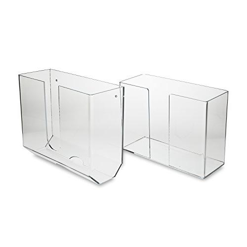 deluxe clear acrylic dual dispensing