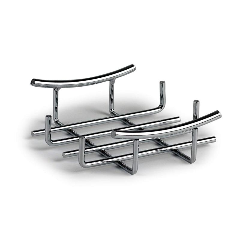 euro flat napkin holder chrome