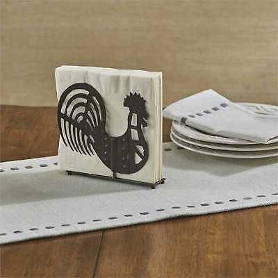 Park Shaped Luncheon Holder Distressed