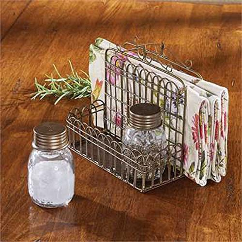 Garden Napkin with & Pepper Shakers