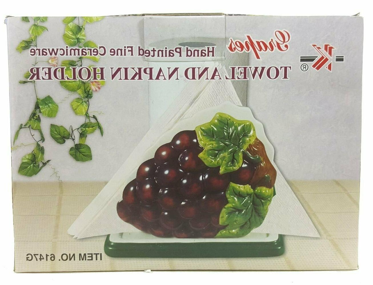 GRAPES PAPER / HOLDER Colorful Kitchen