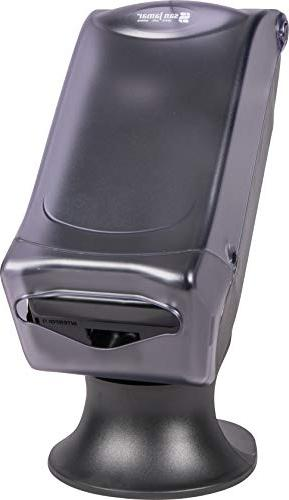 "San Jamar H5005S Fullfold Control Napkin Dispenser with 8"" x Height Clear"