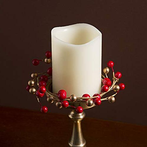 LampLust Holiday Rings, Red Set of 3 for and