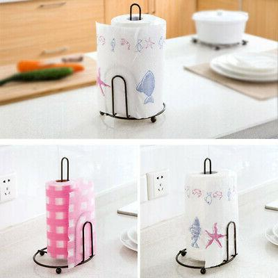 Kitchen Dispenser Desktop Napkin Holder Stand Weighted Iron