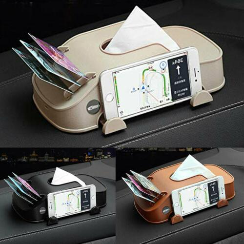 Leather Car Cover Towel Dispenser Decoration