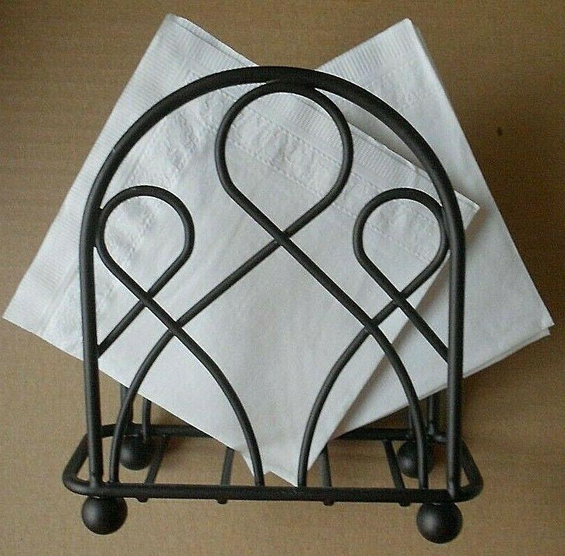 modern decorative paper napkin holder for kitchen