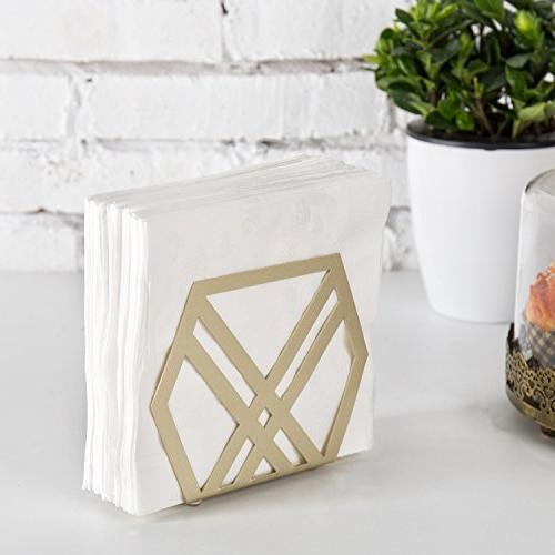 MyGift Geometric Metal of