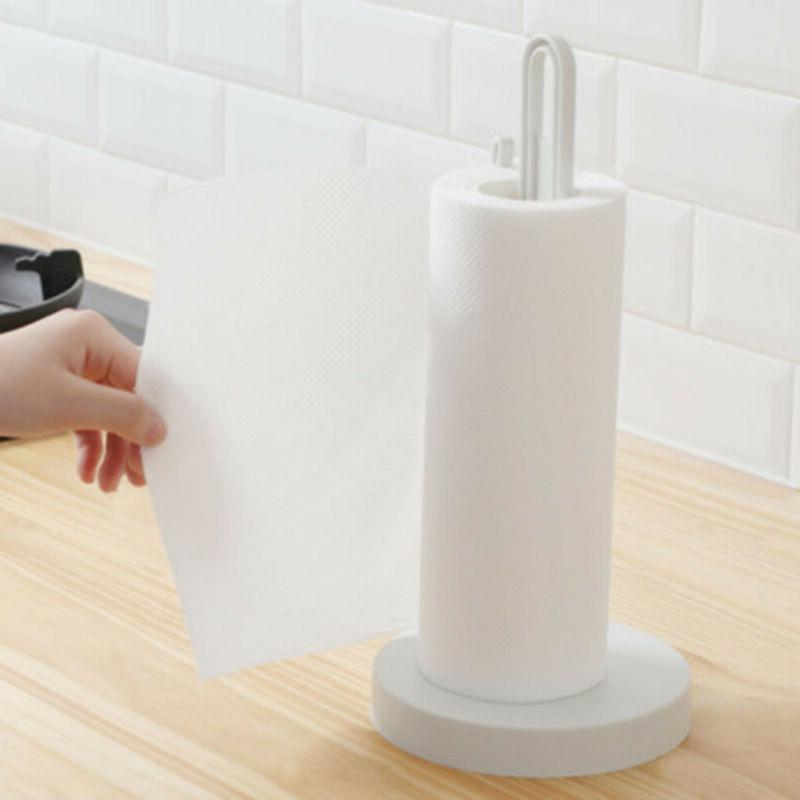 Mounted Punch-Free Vertical Toilet Paper Holder Roll Rack Storage