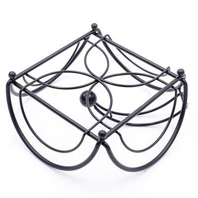 Napkin Serviette Black Metal Dining Rack