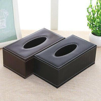 NEW Leather Box Cover Holder Case for Hotel