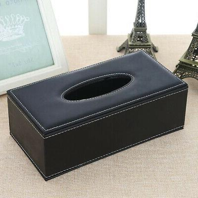 NEW Leather Box Cover Napkin Holder Case Hotel