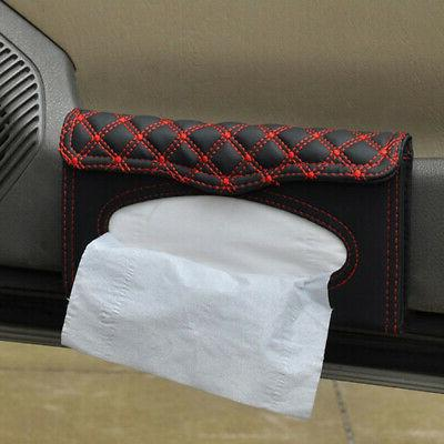US Visor Leather Tissue Holder Paper Cover