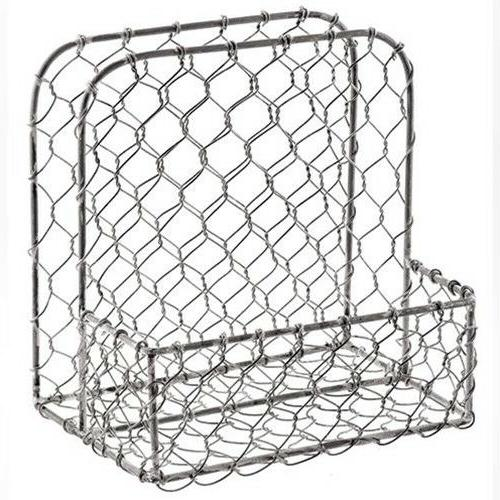 Primitive Style Galvanized Holder