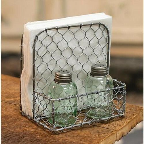 primitive farm house country style galvanized metal