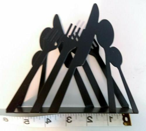 RETRO NAPKIN HOLDER Stainless Steel Dining Rack