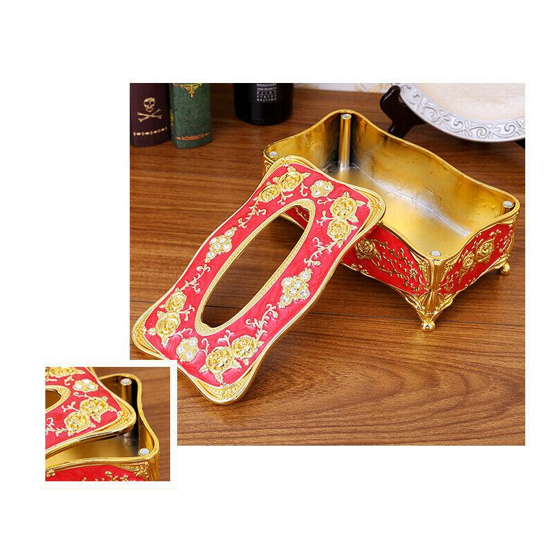 Retro Tissue Napkin Holder Paper Case Cover