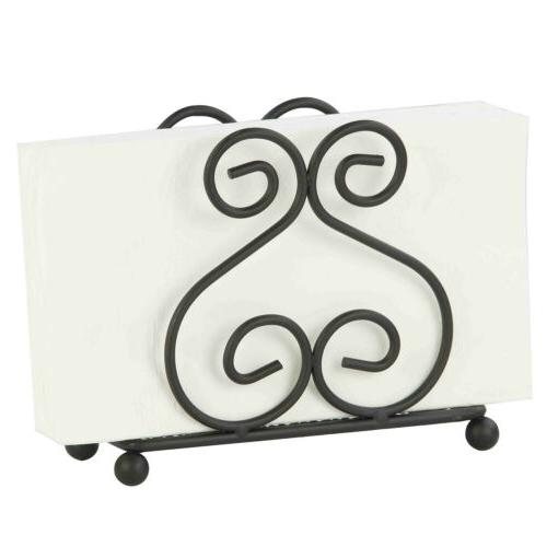 scroll collection black dining room kitchen wire