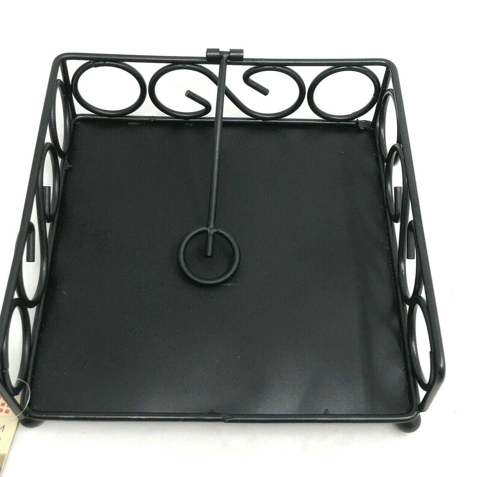 scroll collection flat napkin holder