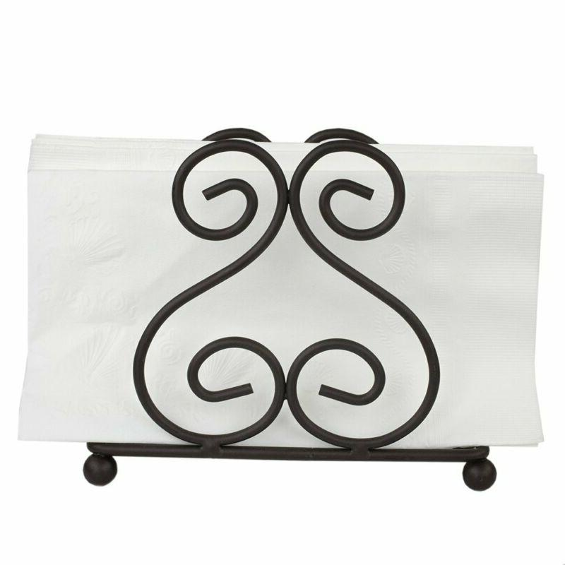 Home Basics Steel Napkin Holder