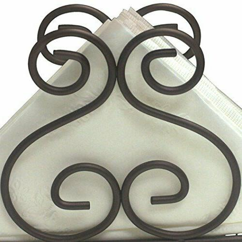 Home Basics Collection Steel Napkin Holder Tissue