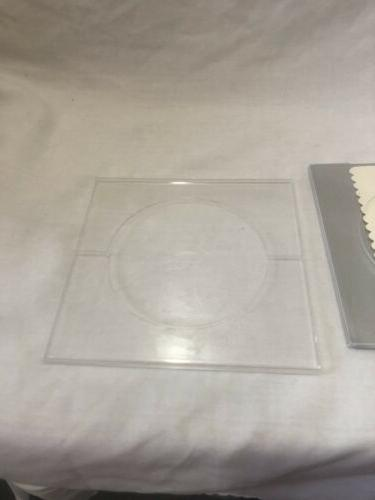 Square Clear Coaster of