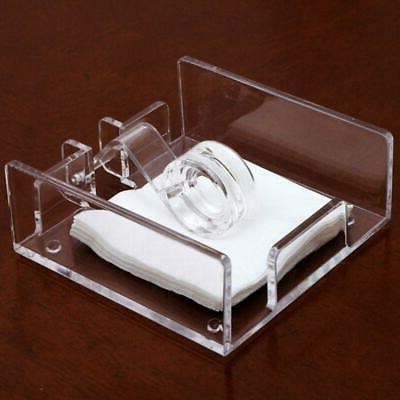 square acrylic clear cocktail napkin holder paper
