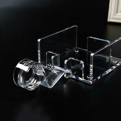 Square Clear Cocktail Napkin Holder Dispenser Tissue