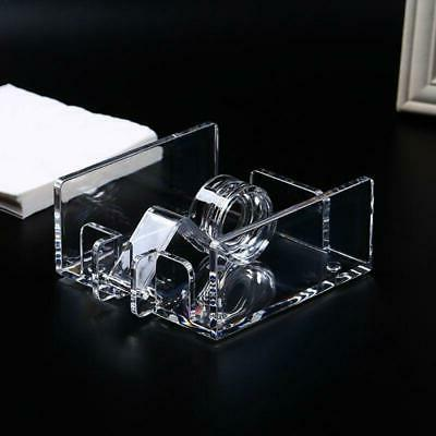 Square Acrylic Clear Cocktail Napkin Dispenser