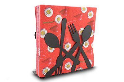 stainless paper large napkin holder stand
