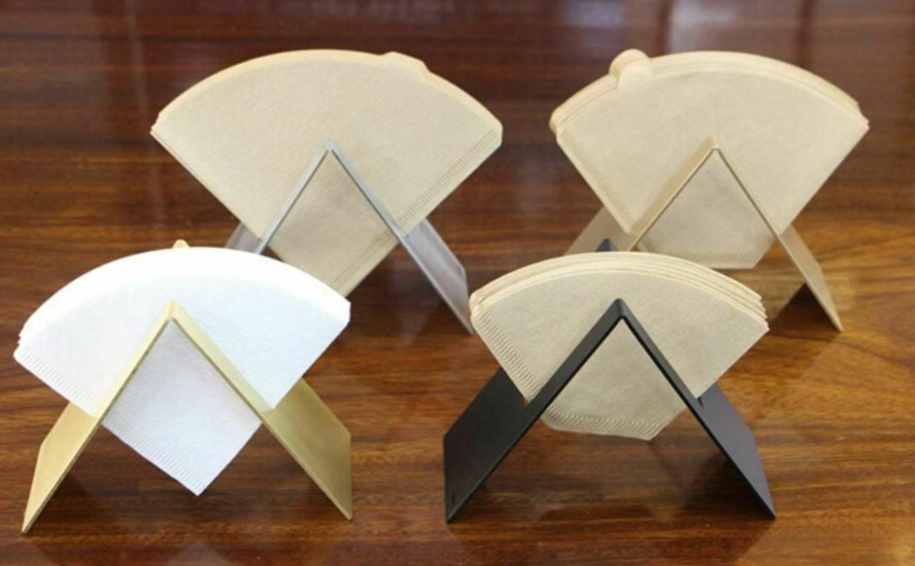 stainless steel modern napkin or coffee filter