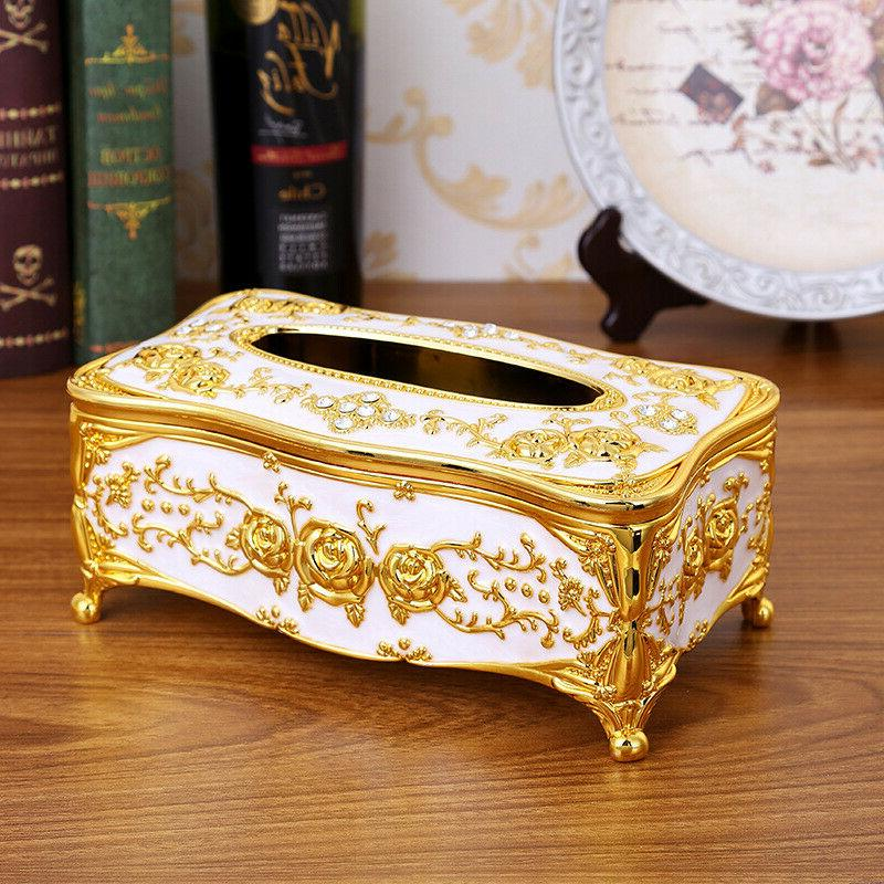 Retro Style Tissue Napkin Paper Case Exquisite