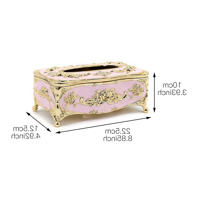 Tissue Cover Tissue Box <font><b>Holders</b></font> <font><b>Napkin</b></font> Dispenser Case Hotel Toilet Home Decor