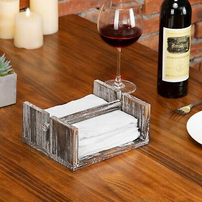 MyGift Napkin Holder Tray Bar Weighted