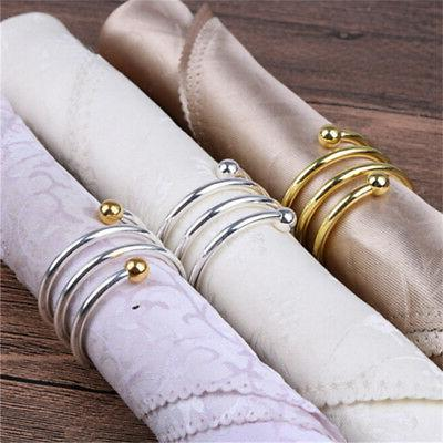 Useful Napkin Serviette Buckle Holder Napkin Ring