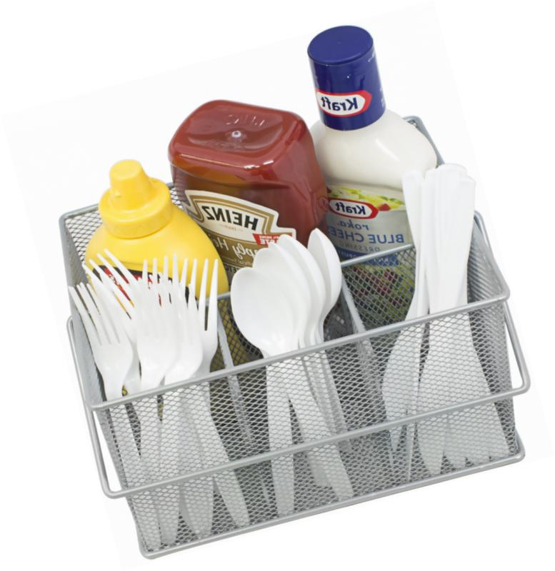 Sorbus Caddy Silverware, Holder, Condiment Organizer